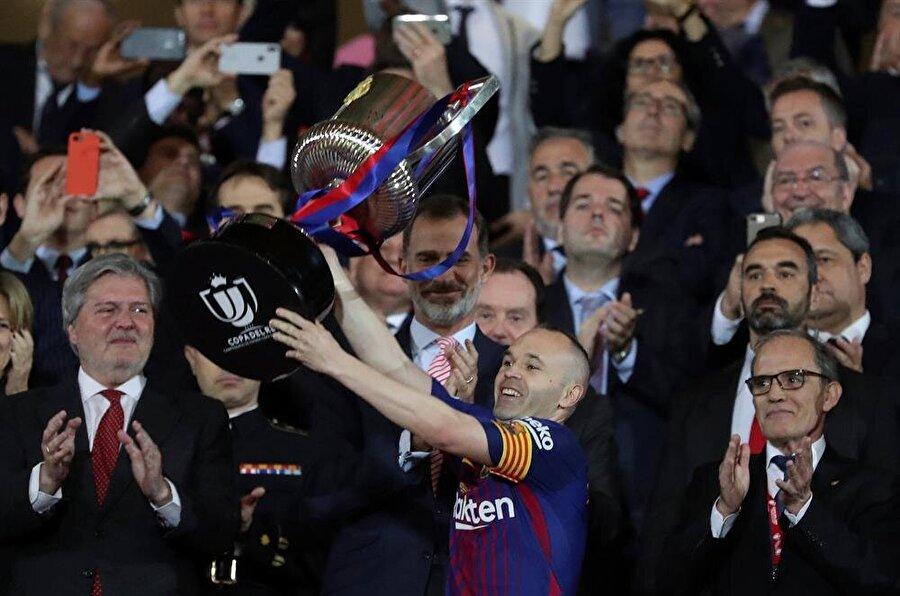 Katalanalar gözlerini lig şampiyonluğuna çevirdi. nFotoğraf: Reuters