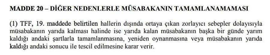 Fenerbahçe - Beşiktaş maçının tatil edilmesinin asıl gerekçesi.