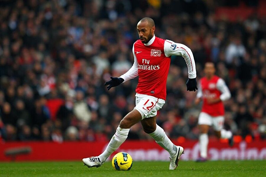 Thierry Henry'nin ismi Arsenal ile özdeşleşmişti.