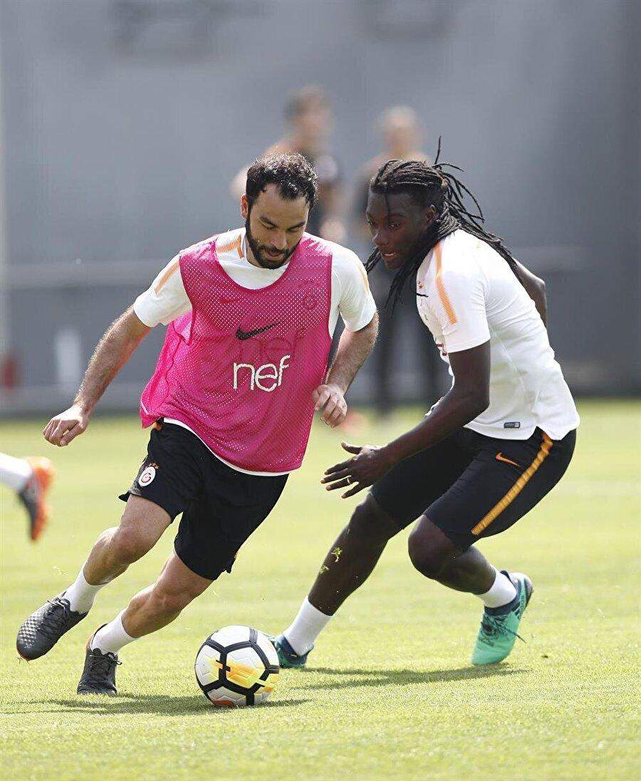 Galatasaray derbi hazırlıklarını sürdürüyor.nFotoğraf: AA
