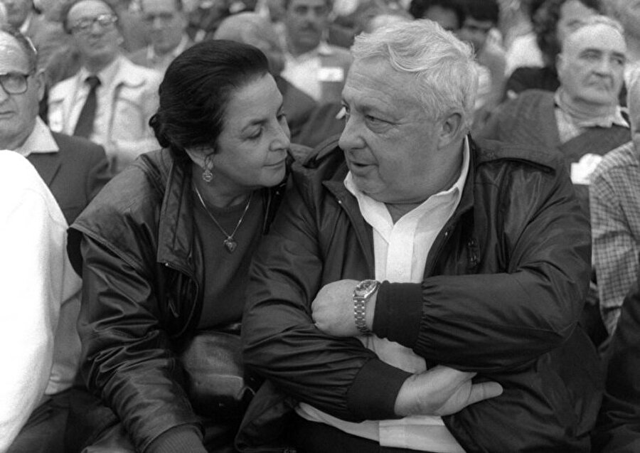 Lily Sharon ve Ariel Sharon