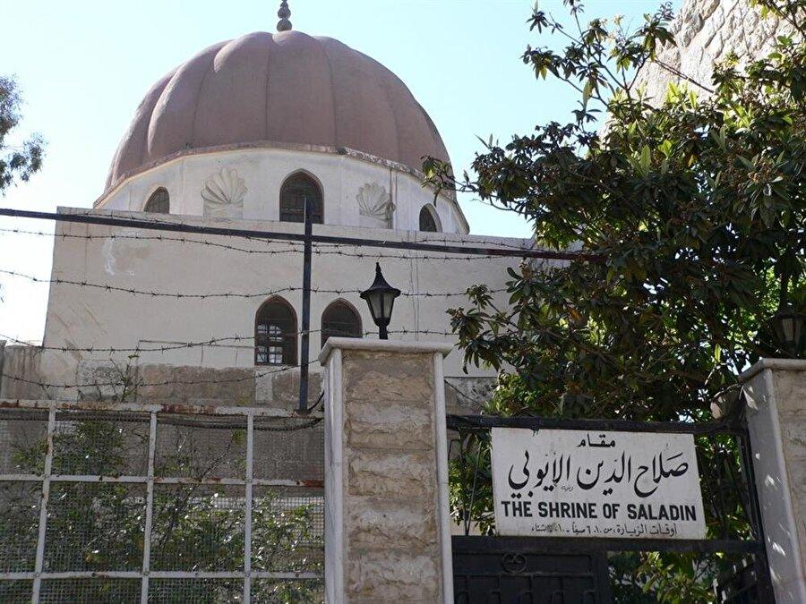 Salahaddin Eyyubi'nin Şam'da buşunan kabri.