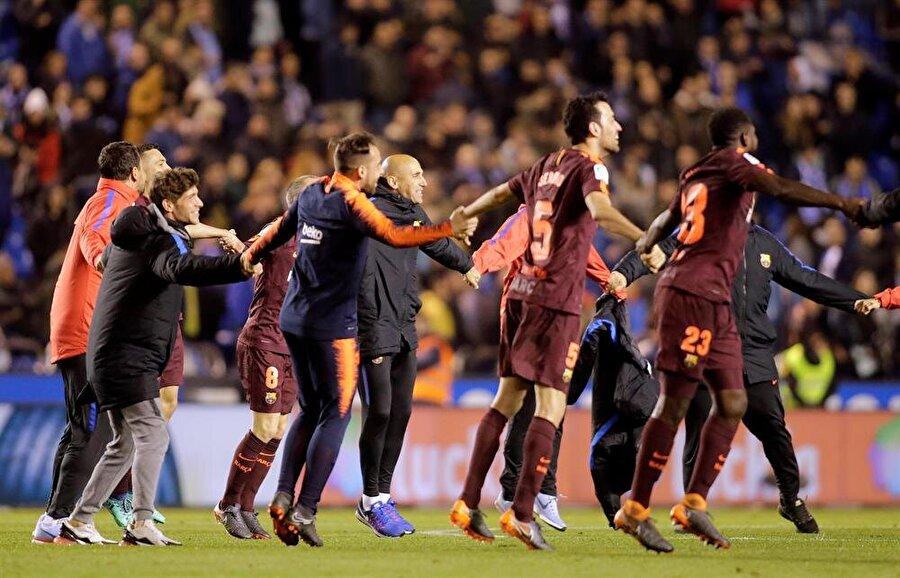 Barcelona gelecek hafta sahasında Real Madrid ile karşı karşıya gelecek.nFotoğraf: Reuters