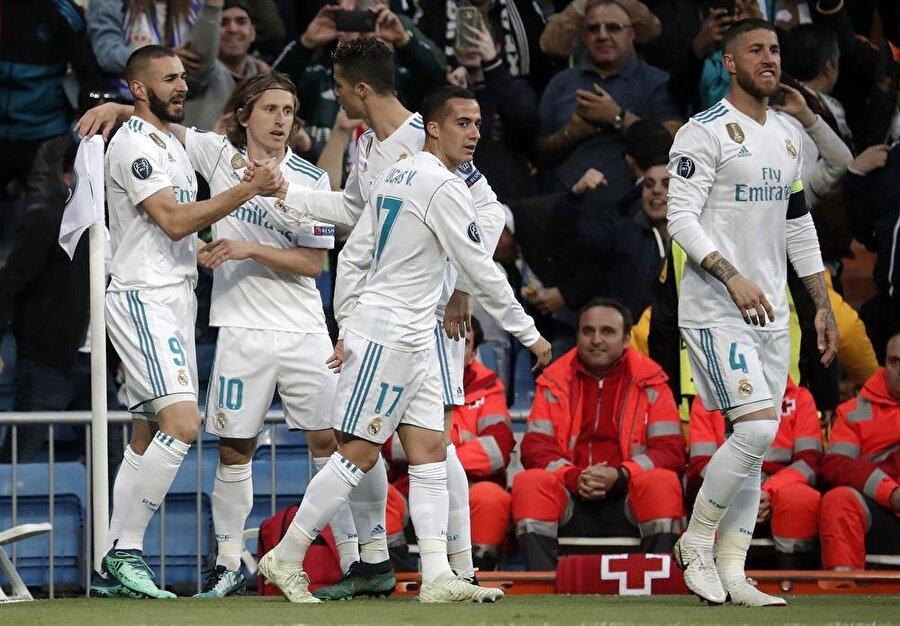 Real Madrid adını finale yazdırdı.nFotoğraf: AA