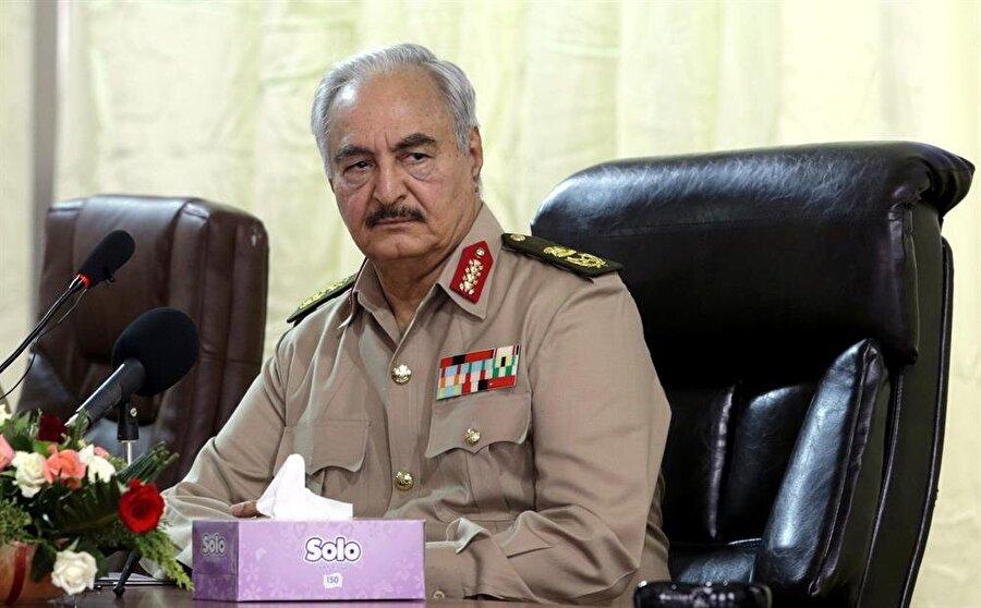 Halife Hafter (Esam Omran Al-Fetori / Reuters)