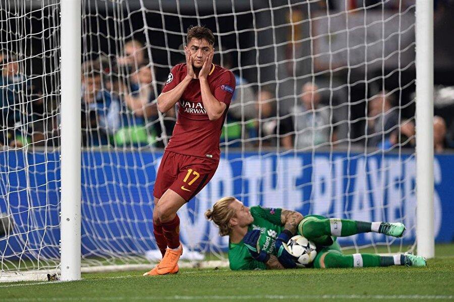 Roma forması ile 30 maça çıkan Cengiz Ünder 7 gol atıp 2 asist yaptı.nFotoğraf: AA
