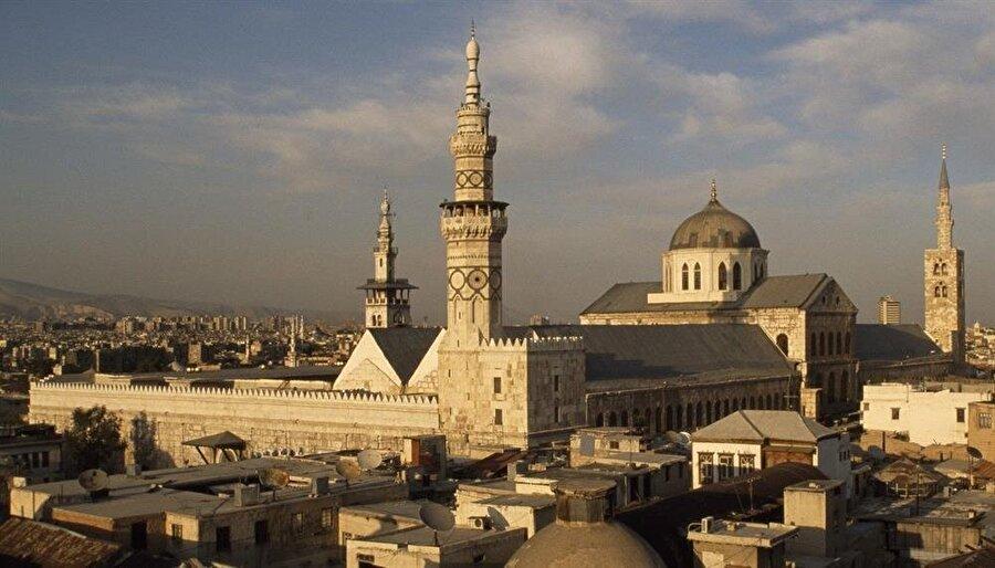 Şam'da bulunan Emevi Camii