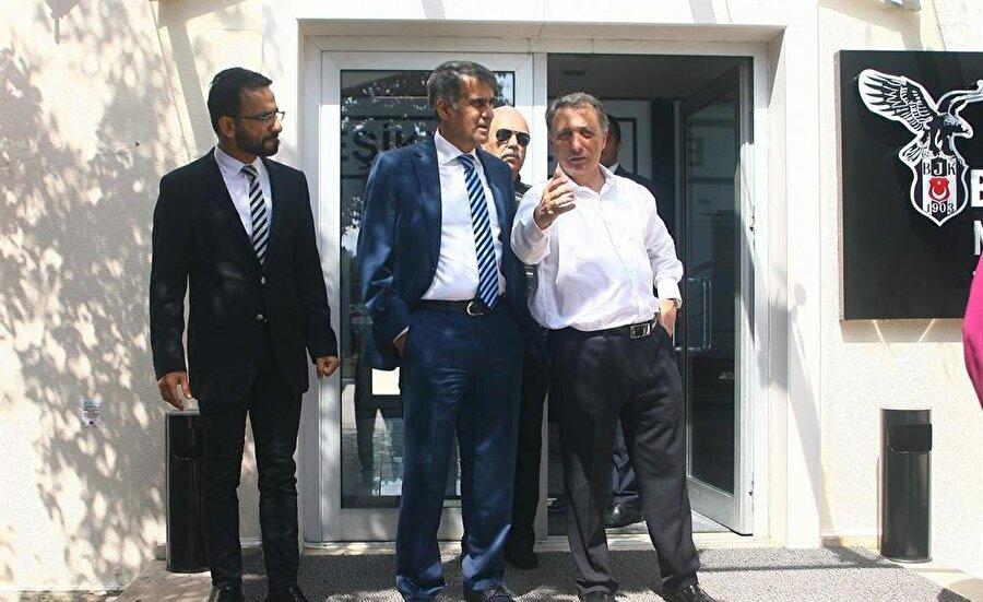 Ahmet Nur Çebi, Güneş'in Beşiktaş'tan ayrılmayacağını açıklamıştı.
