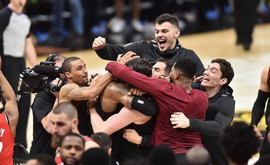 Cleveland Cavaliers seride 3-0 öne geçti.nFotoğraf: Reuters