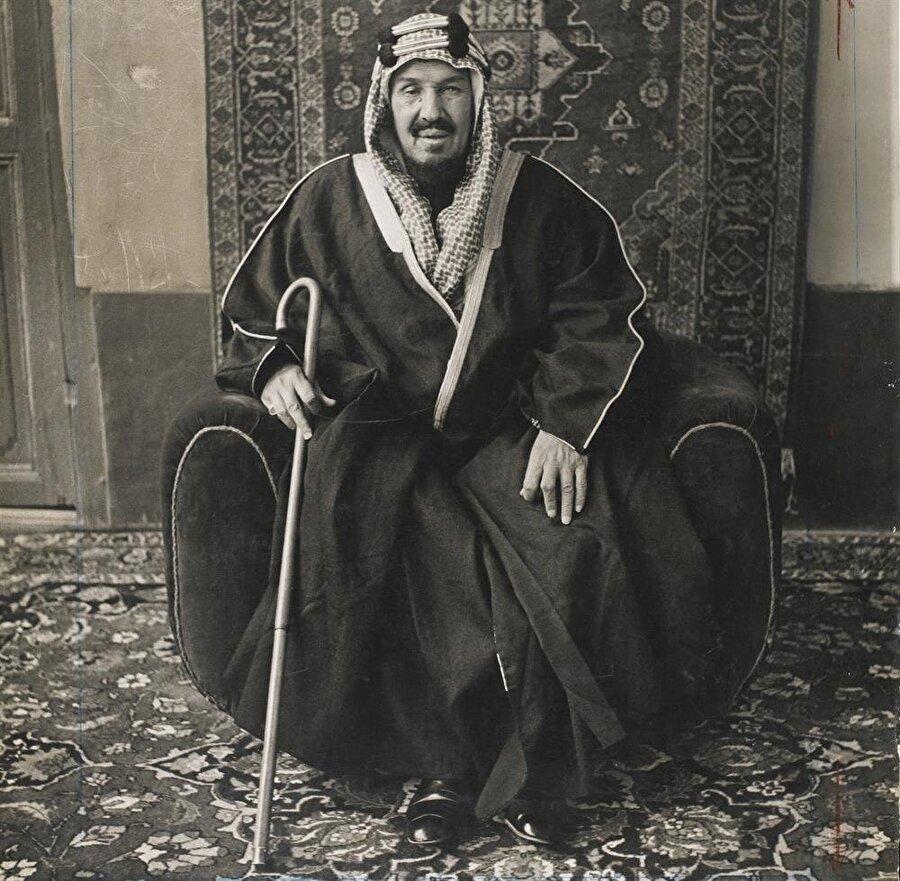 Suudi Arabistan'ın kurucusu Kral Abdulaziz bin Abdurrahman Âl-i Suud
