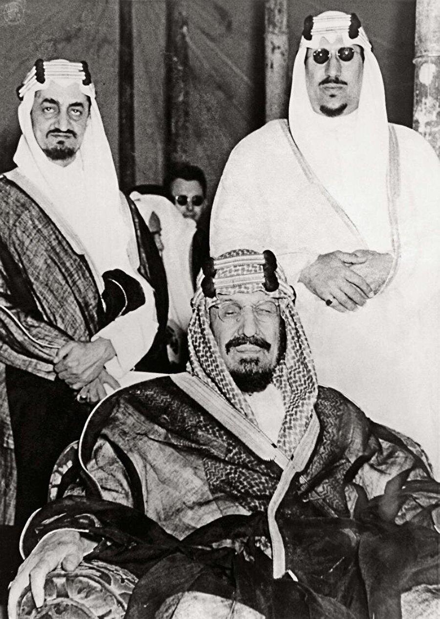 Kral Abdulaziz, 2. Kral Saud ve 3. Kral Faysal