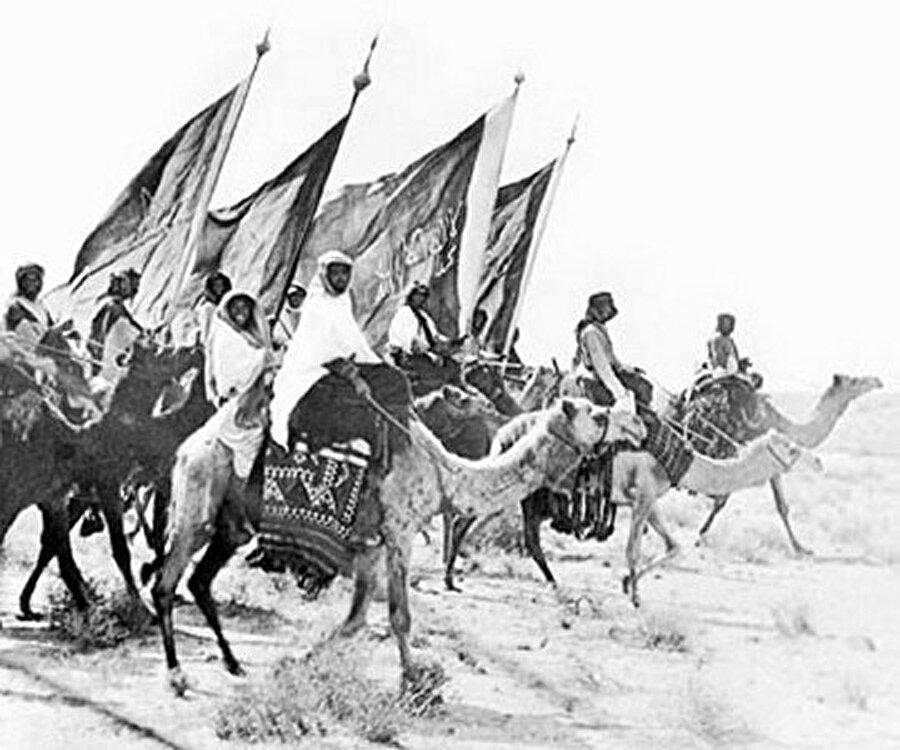 Arap Yarımadası'ndaki kabileler, İhvan'a karşı Kral'ın yanında saf tutmuştu.