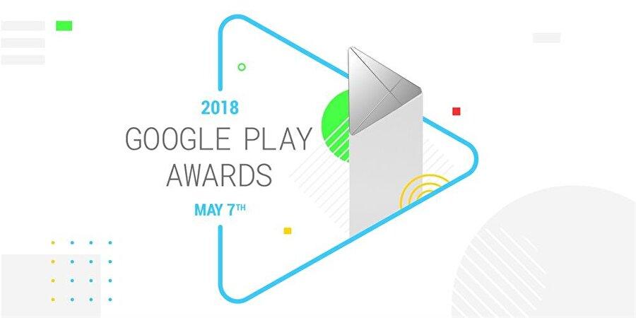 Google Play Awards 2018 simgesi.