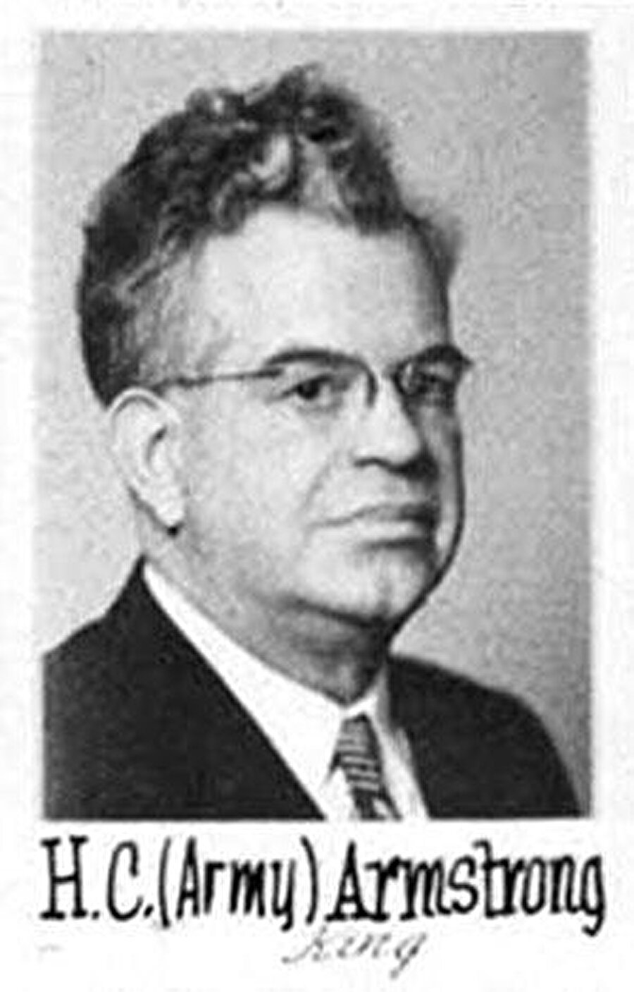 H. C. Armstrong