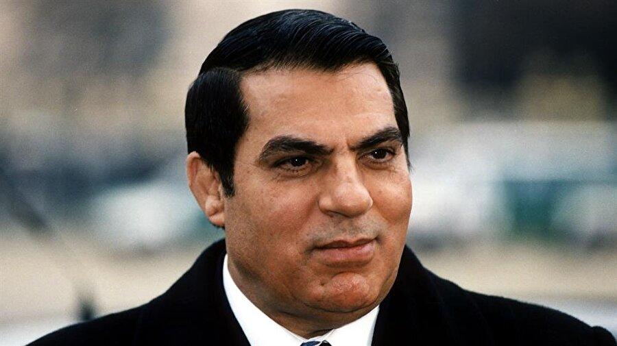Tunus'un devrik Cumhurbaşkanı Zeynelabidin bin Ali.