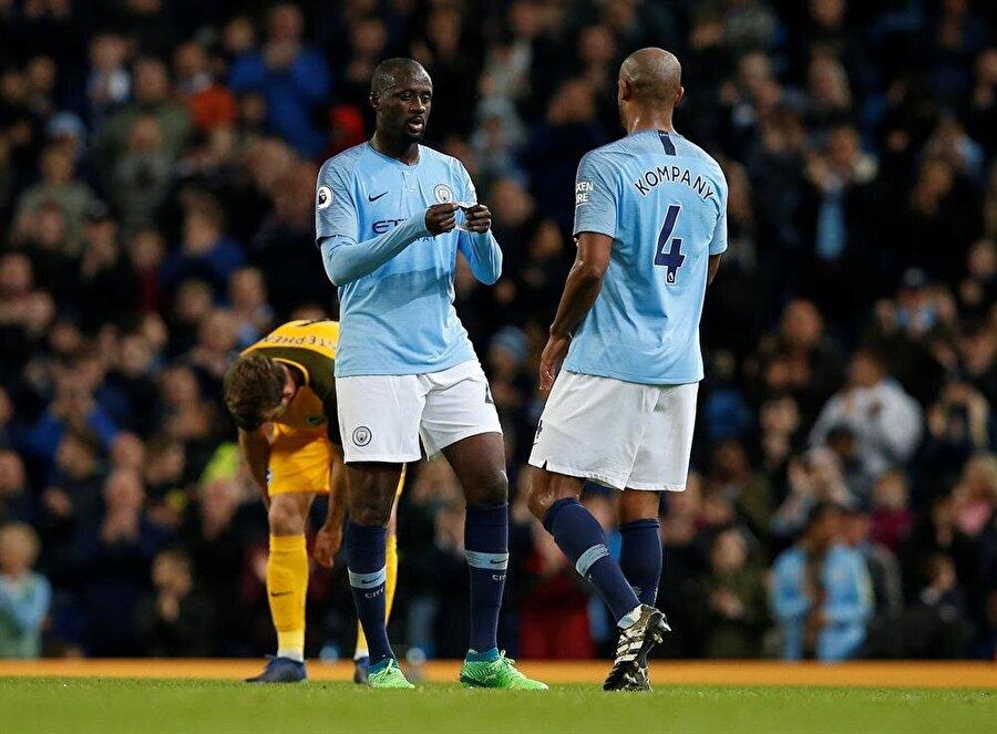 Manchester City kırılması güç bir rekora imza attı. nFotoğraf: Reuters