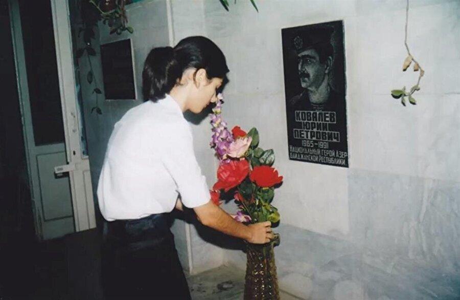 Kovalyov'un adını taşıyan okulda kendisine ayrılan bir köşe bulunuyor.