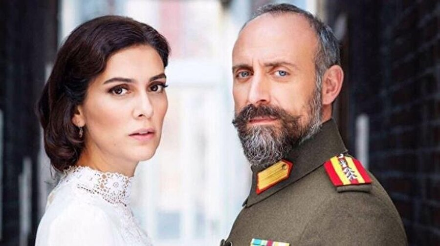 Bergüzar Korel ve eşi Halit Ergenç