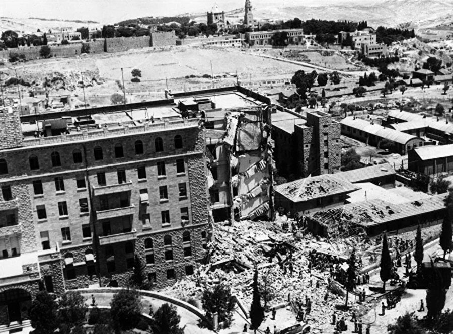 King David Hotel'e düzenlenen bombalı saldırı, İngiltere'yi mandayı bitirmeye ikna etmişti.