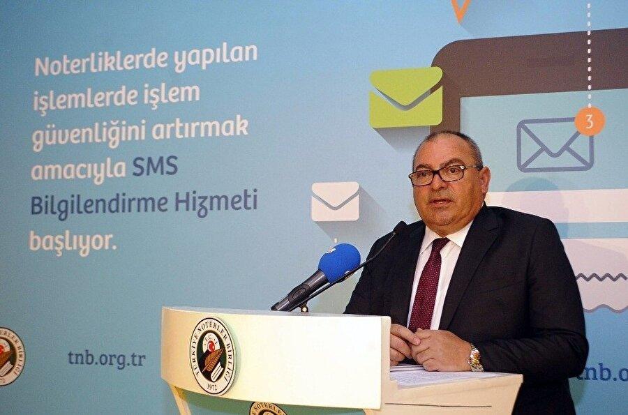 Türkiye Noterler Birliği Başkanı Yunus Tutar