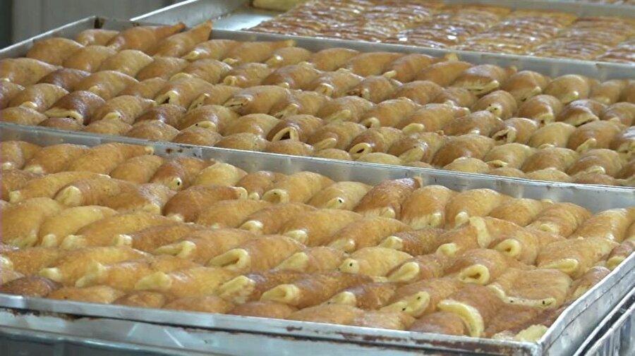 """""""Kadayıf"""" tatlısı, Kudüs ramazanlarının en özel tatlarından biridir. (İbrahim Furkan Özdemir)"""
