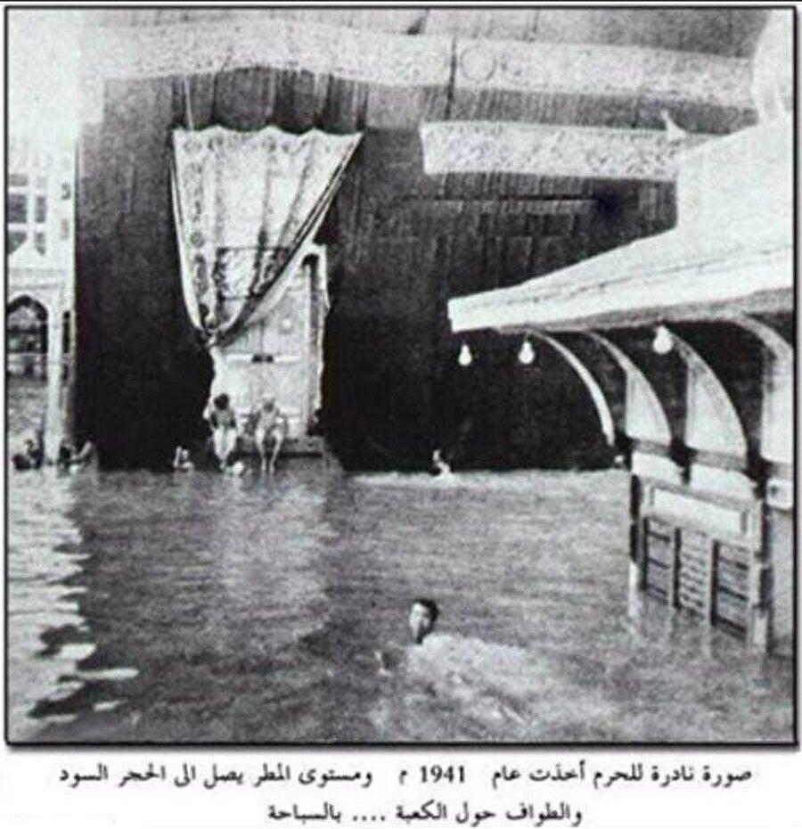 1941'de Mekke'yi basan seller sırasında 12 yaşında olan Şeyh Ali, arkadaşlarıyla hemen Kâbe'ye koşmuş, sonra da kendisini tutamayıp sulara atlamıştı.