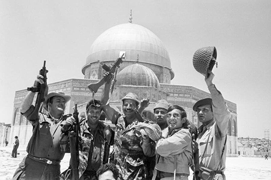 """Kudüs, bugün hala """"Ortadoğu sorununun"""" odağında."""