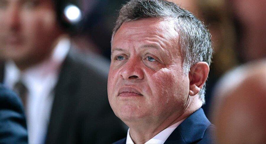 Kral Abdullah, 1999'dan bu yana Ürdün'ü yönetiyor.