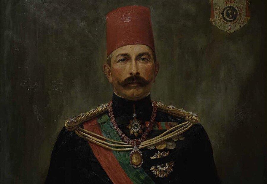 Mehmet Ali Paşa'nın yerine geçen torunu Abbas Hilmi Bey.