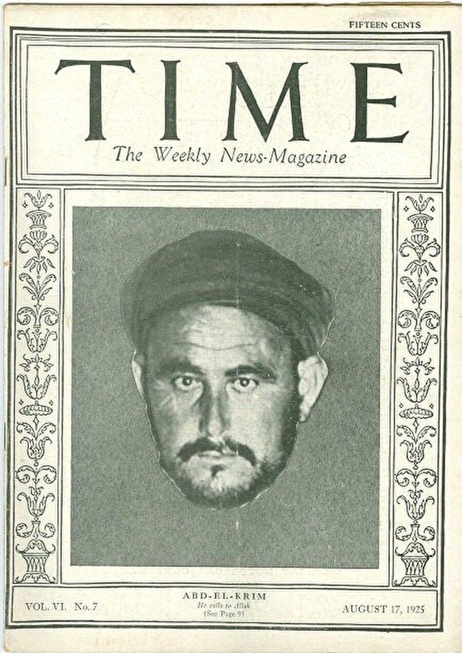 ABD'nin dünyaca ünlü dergisi TIME, Abdulkerim Hattabi'yi kapağına taşımıştı.