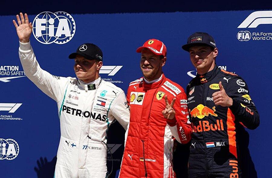 Vettel, Kanada'da rekor kırdı. nFotoğraf: Reuters