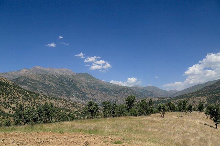 Anadolu Ajansı, terör örgütü PKK'nın en büyük kampının bulunduğu Kuzey Irak'taki Kandil Dağı'nı görüntüledi.