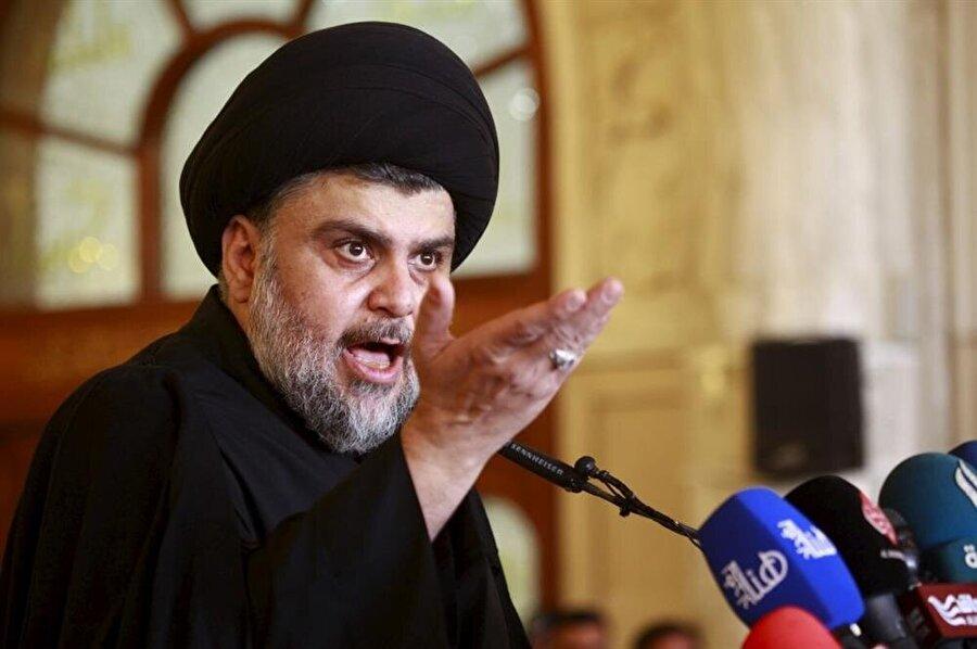 Şii lider Mukteda Sadr'ın liderlik ettiği cephe, seçimden birincilikle çıkmıştı.