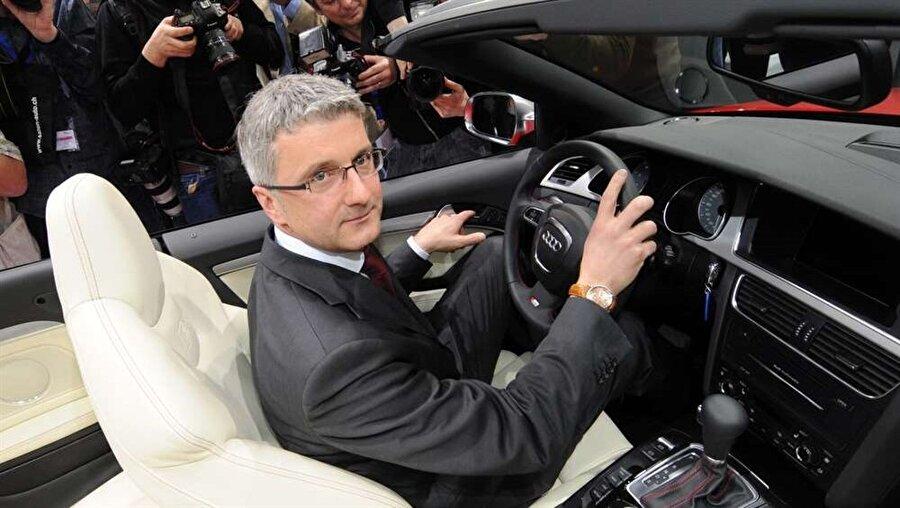 Audi'nin CEO'su Rupert Stadler
