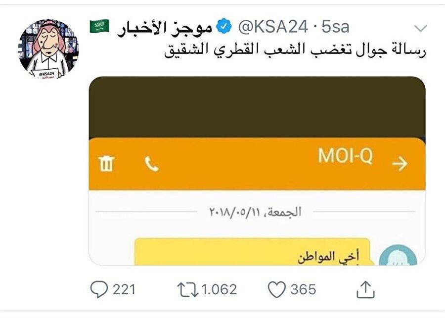 Sosyal medyada Türkiye aleyhine çok sayıda yalan paylaşımda bulunan hesap, Suudi yönetimine direkt bağlı kişilerin kontrolünde.
