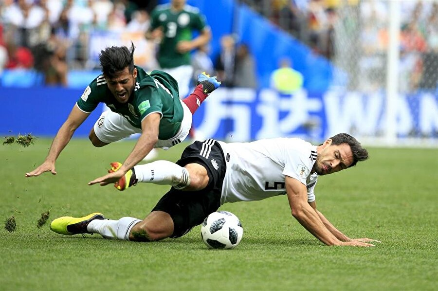 Almanya, Meksika karşısında puan kaybetti.nFotoğraf: AA