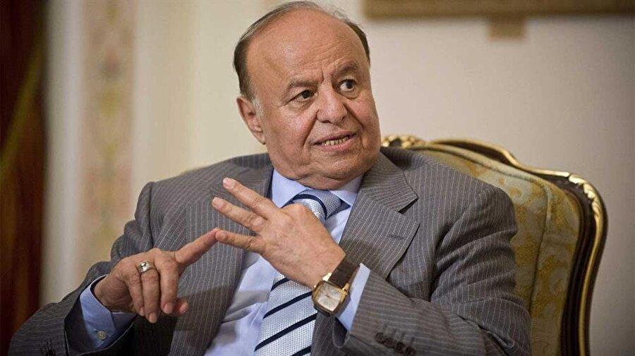Mansur Hadi, uluslararası toplum tarafından Yemen'in Cumhurbaşkanı kabul ediliyor.