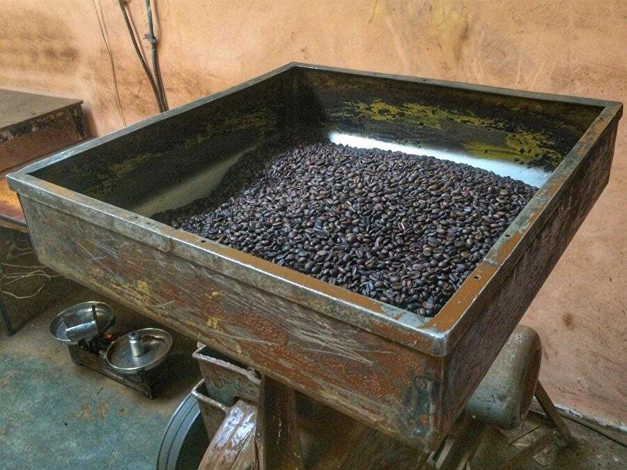 2017 yılı verilene göre, Etiyopya ihracatının üçte ikisini kahve ve kahveden elde edilen ürünler oluşturuyor. (Fotoğraf: İsmail Yasin Avcı)