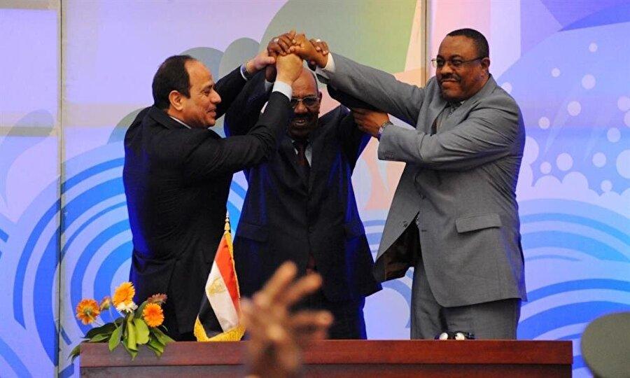 Üç ülke arasında 2015'te barajın yapımı ve kullanımına dair ilkeler anlaşması imzalandı.