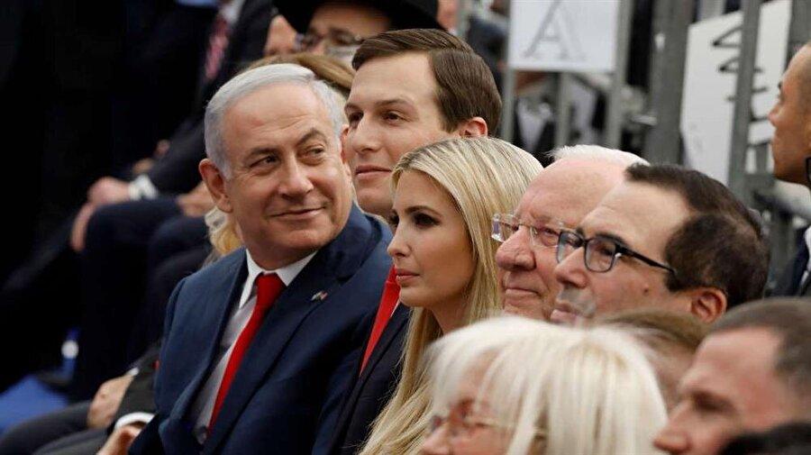 Jared Kushner ve eşi Ivanka, geçtiğimiz ay ABD'nin Tel Aviv'deki büyükelçilik binasının Kudüs'e taşınması töreninde hazır bulunmuştu.