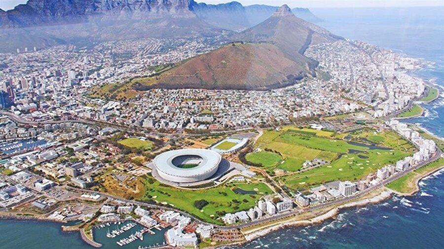İmam Harun'un doğduğu Cape Town şehri.