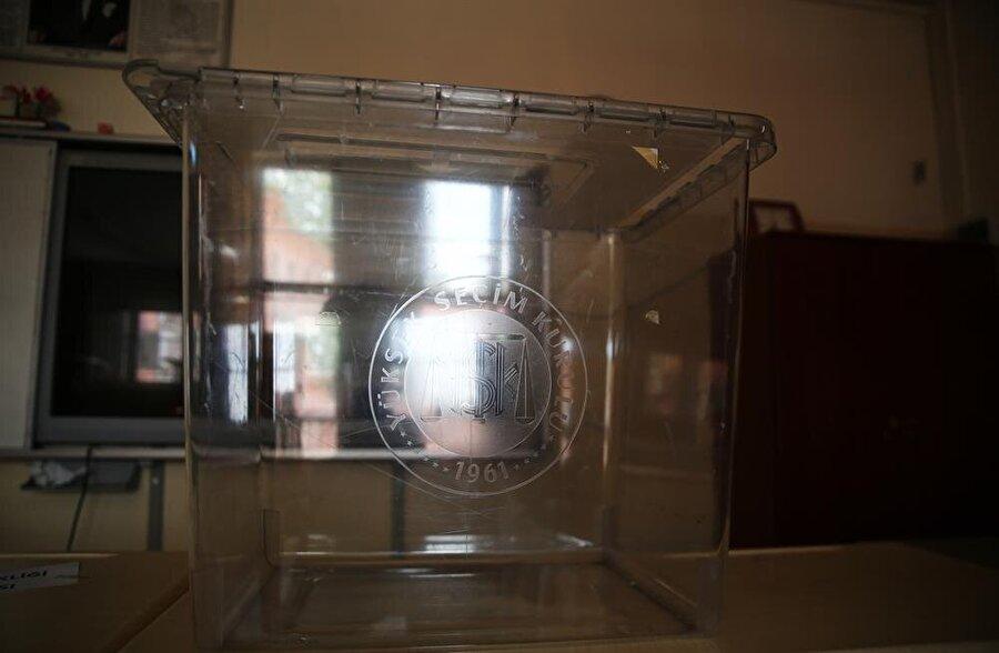 24 Haziran seçimlerinde 180 bin 65 sandıkta oy kullanılacak.