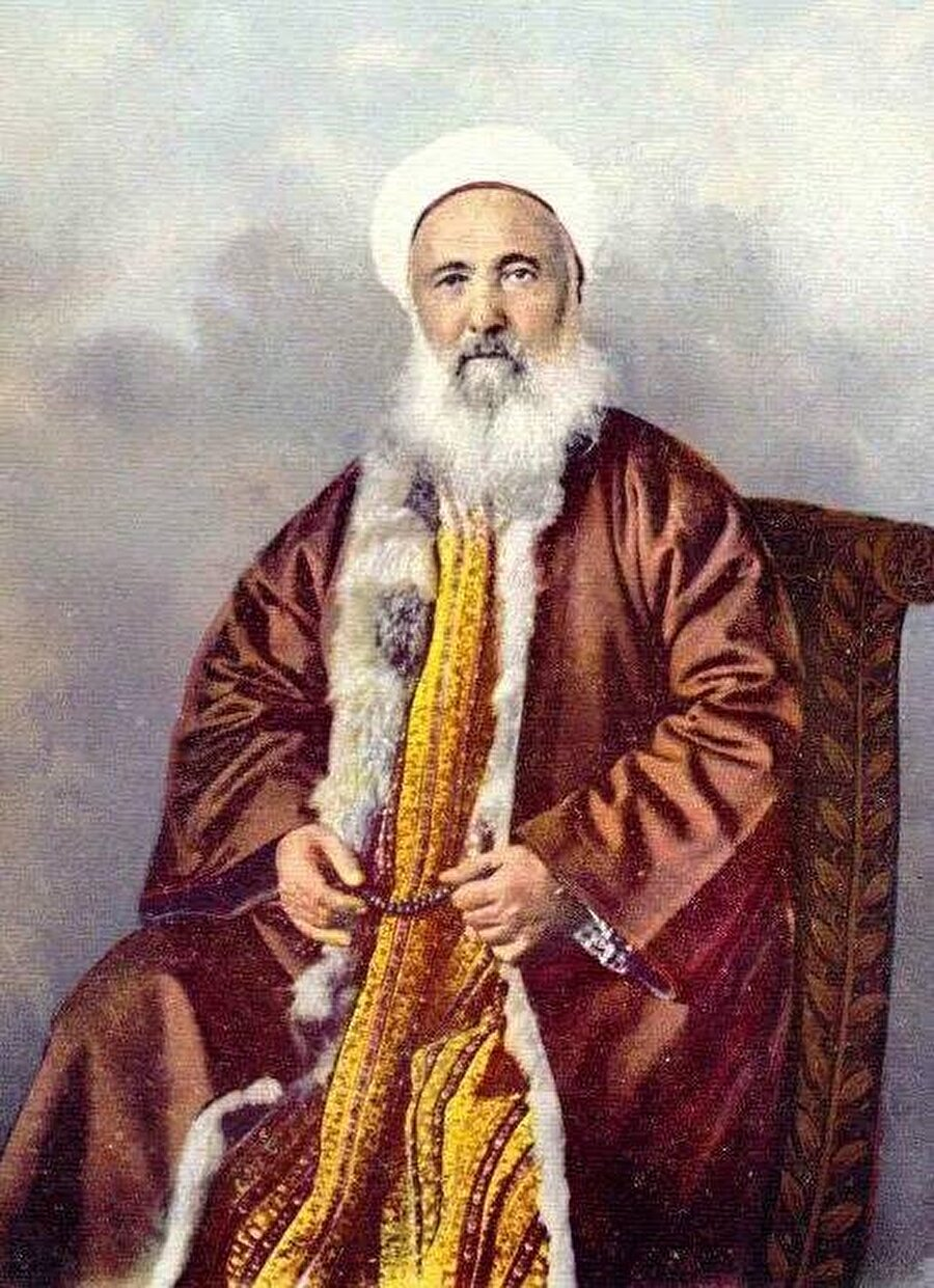 Nakşi Şeyhi Ahmed Ziyaeddin Gümüşhanevî.