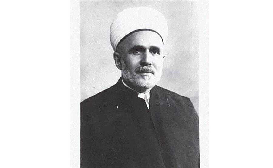 İmam Zâhid Kevserî'nin Mısır'a göç ettiği zamanlardan bir fotoğrafı.