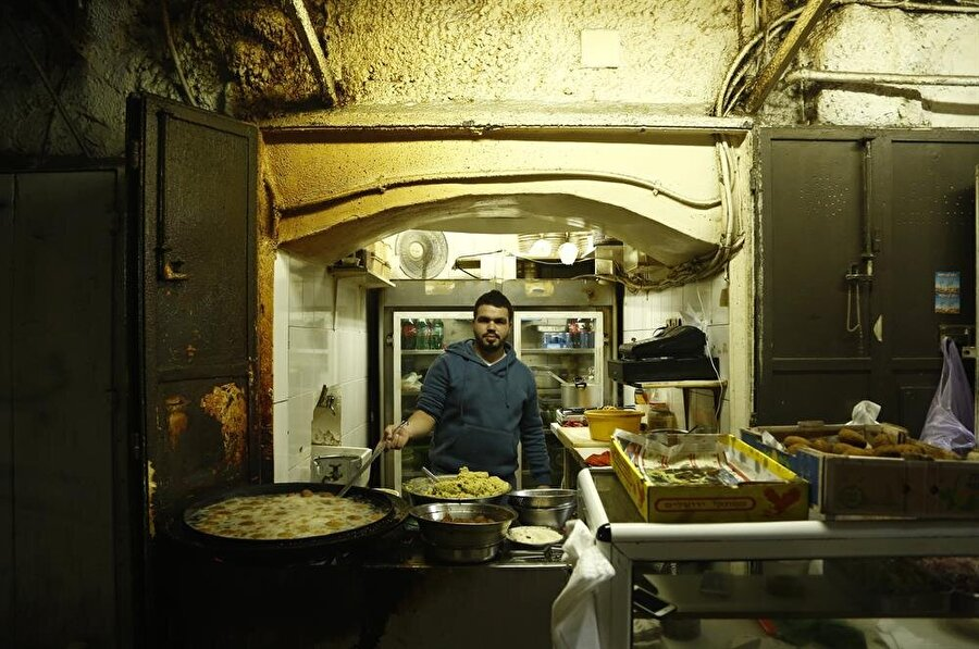 Şehrin en popüler yemeği: Felafel (Fotoğraf İsmail Çağılcı)