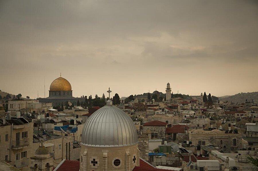 Kadim Kudüs, Tel Aviv'den yaklaşık 45 dakika uzaklıkta. (Fotoğraf: İsmail Çağılcı)