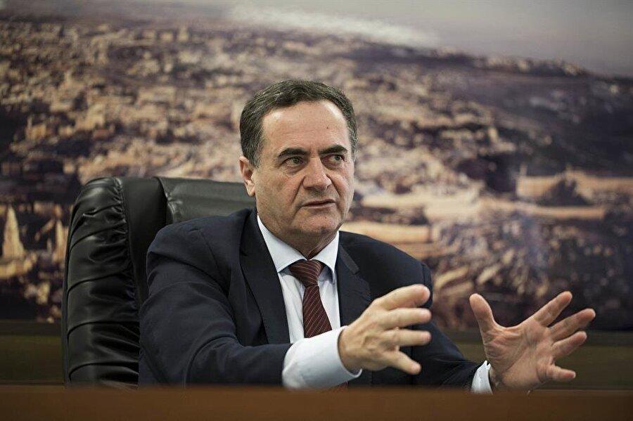 İsrail Ulaştırma Bakanı Katz, Başbakan Netanyahu'nun yakın çalışma ekibinden.