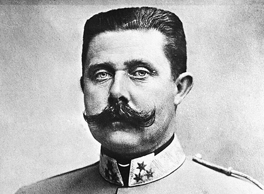 Avusturya Macaristan Veliaht Prensi ve Avusturya Arşidükü Franz Ferdinand.