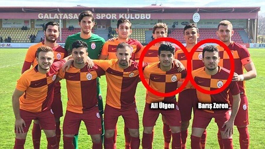Ali Ülgen (sağ bek) & Barış Zeren (orta saha)