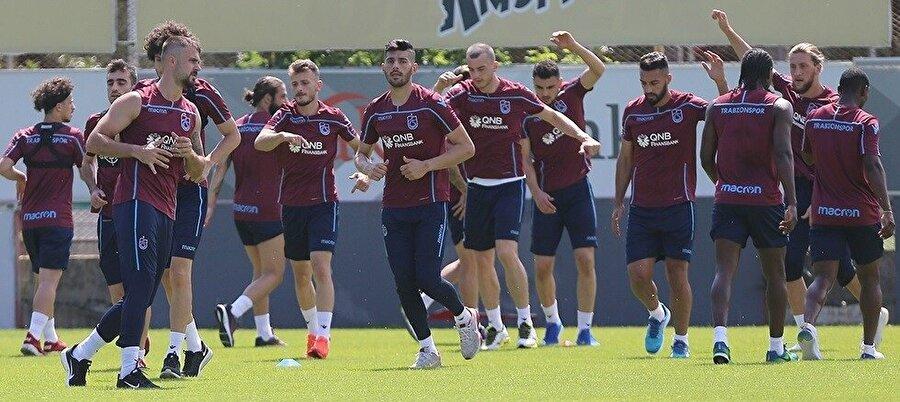 Trabzonspor ilk etap çalışmalarını tamamladı.n